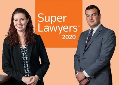 Two Sloane and Walsh Attorneys Named Super Lawyers 2020