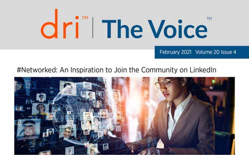Laura Gregory is interviewed by DRI   The Voice about upcoming book, #Networked